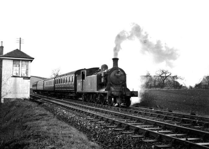 ex NBR Class C16 4-4-2T 67472